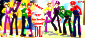MMD * MARIO BROS Nintendoroid*  [UUPP DL] by rby121174