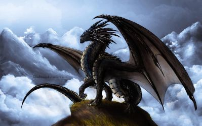 The Dragon Guardians - #04 Mountain. (Female) by PandiiVan