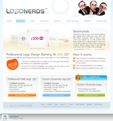 LogoNerds Website by octav-chelaru
