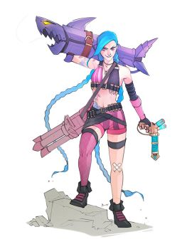 Sketch - Jinx by charlestanart