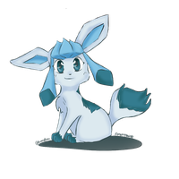 Glaceon by ForgottenWinds