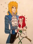 Merry Christmas from Jareth and Angelique by Yoitefriend