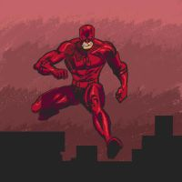 Daredevil sketch by a7md93