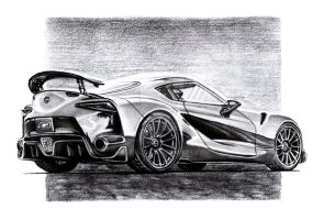 Toyota FT-1 by Arek-OGF