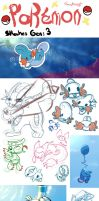 Pokemon Skeches Gen:3Hoenn
