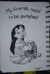 Lilo and Stitch - My Friends Need to be Punished by ShadowPhoenixRisen