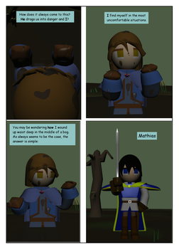 The Swamp Witch Page 1 by SiverCat