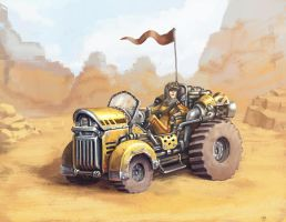 Desert buggy by mcnostril