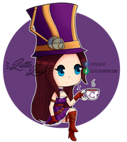 Chibi Caitlyn by luly97