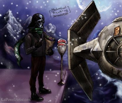 Parking Ticket on Alderaan by K-EL-P