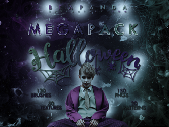 + MEGAPACK HALLOWEEN 2018 + by BEAPANDA
