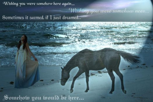 Wishing you were somehow here by Queen---of---Spades