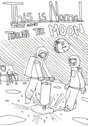 Through the Moon Cover Art by timsplosion