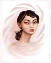 Another Chell by danitiwa