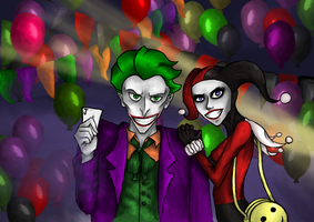Joker and Harley by Soirema-pl