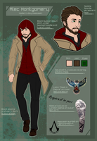 CM | Alec Montgomery Reference Sheet by Kaybutts