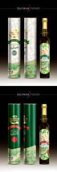 Olive Oil Packaging by byZED