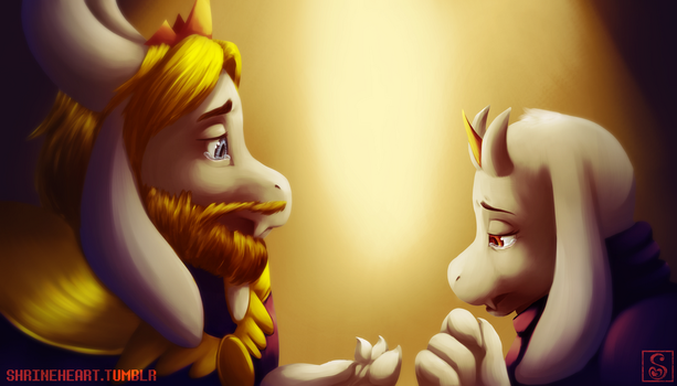 Undertale: They Are Going Through the Unimaginable by Shrineheart