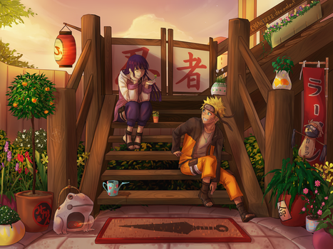 Before the day ends by Cygnetzzz