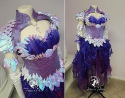 Amethyst Draconia Gown by Firefly-Path