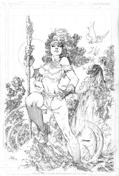 Rogue in the Savage Land by jimlee00