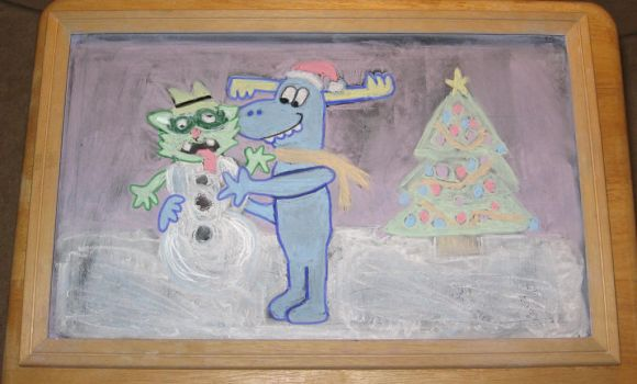 A Happy Tree Friends  Christmas by Barricade9-1-1