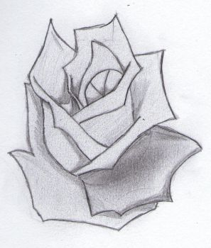 A Try At A Rose by Marik-of-the-Shadows