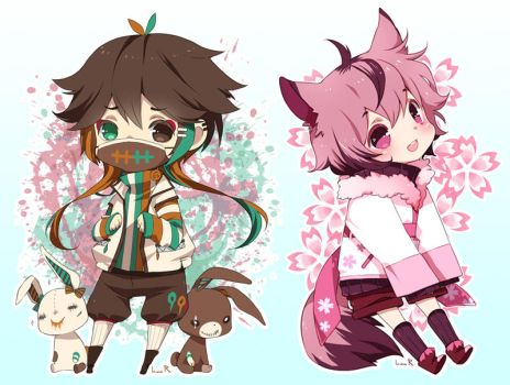 Chibi commission batch06 by inma