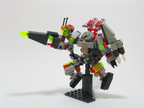 LEGO UFO Command Mech by illogictree