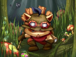 Captain Teemo by AkaneQ