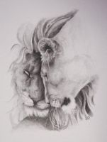 lions in love 2 by GrayWolfcg