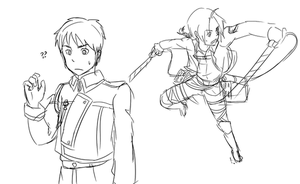 Doodle: SNK + FMA uniform exchange by qianying