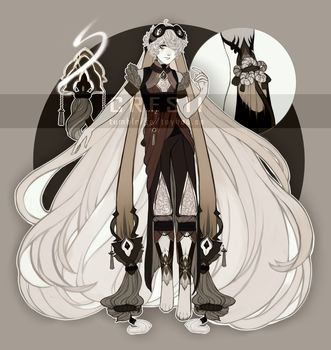 Personal - F'lenn Outfit Design by Cresii