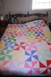 Pinwheel Quilt by Darkwisher93