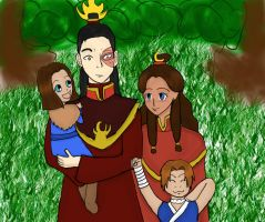 Zutara Week 2010-Family by Kiyamasho