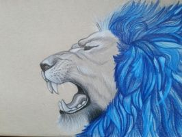 Roaring Lion [October 10th 2015] by rynderkitten