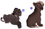 breedable cub result for 1xC 3xC by BeeStarART