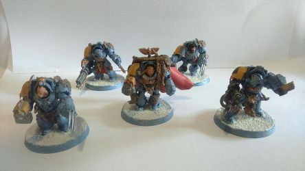 Wolf Guard Terminators by SPARTAN-180