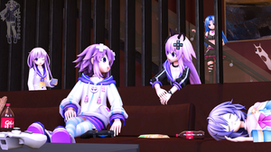 The middle of day [SFM Neptunia Art] by IFNepTune