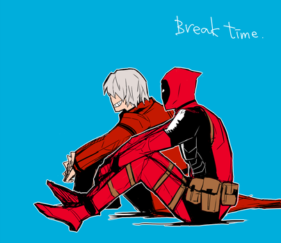 dante and deadpool by dust6