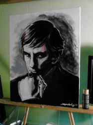 Barnabas Collins - Frid - canvas 1 by Shinjuchan