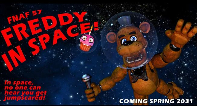 1st april, FREDDY IN SPACE! by LuigiBrosTheGolden