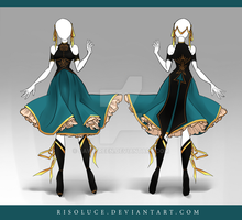 (CLOSED) Adoptable Outfit Auction 94 by JawitReen
