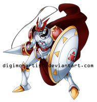 Dukemon by DigimonArtist