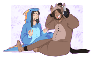 McHanzo Week Day 2: Undercover by samdrawsalot