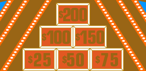 $20,000 Pyramid Tournament Winner's Circle Amounts by mrentertainment