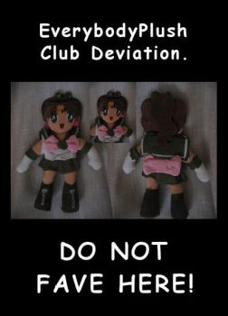 Sailor Jupiter plush by EverybodyPlush