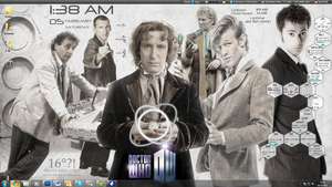 Doctor Who desktop WIP by methosivanhoe