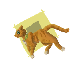 Painty Cat Thingy by LillazKoiFish