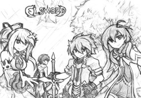 Elsword : What are you waiting for? Come on! by Anax78